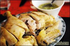 Poulet fermier vapeur / 港式蒸黄皮鸡 / www.foodaholic.ch Cheese, Ethnic Recipes, Food, Chinese Restaurant, Eten, Meals, Diet