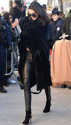 Cut out para uma pegada mais fashionista como a de  Kendall Jenner.
