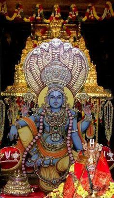 """Thirumazhisai AzhwAr "" incarnation of Sri. Sudarshana Chakra (the divine discus of Lord SrimanNarayana) Ganesha Art, Krishna Art, Krishna Images, Lord Krishna, Lord Shiva, Krishna Lila, Jai Ganesh, Krishna Pictures, Indian Gods"