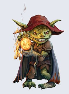 Goblin Pyromaniac by SHAWCJ on DeviantArt