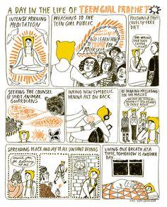 Comics by Yumi Sakugawa / on Design Work Life