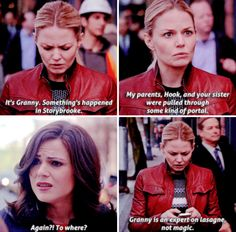 "Regina's answer & how she said it was so Hilarious!! Emma Swan and Regina Mills - 5 * 22 ""Only You"""