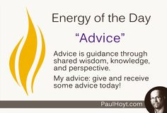 I am grateful for my advisers, and for the privilege of sharing advice with others. How about you?