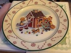 gingerbread man dinnerware