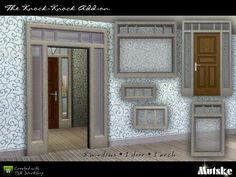 The Knock-Knock Addons by Mutske  http://www.thesimsresource.com/downloads/938984