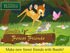 bambi coloring pages games - photo#34