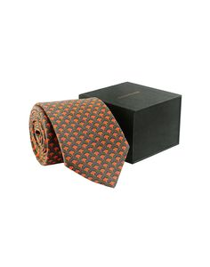 Grey & Red Silk Tie - Tie - Shop By Product - Fashion Accessories