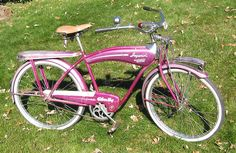 Antique Bicycles, Transportation Technology, Wheeling, Old Bikes, Cycling, Old Motorcycles, Biking, Bicycling, Ride A Bike