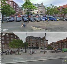 Galeria - Antes/Depois: 30 fotos que mostram que é possível projetar para os pedestres - 17