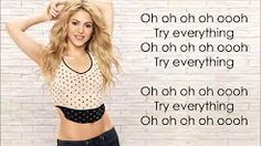 try everything shakira - YouTube