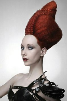 Hair Styles For Women Cool Hairstyles For Men, Creative Hairstyles, Unique Hairstyles, Wig Hairstyles, Madonna, Avant Garde Hair, Extreme Hair, Hair Creations, Hair Reference
