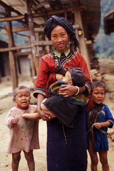 LAOS   A visit to a remote Lolo village in north Laos
