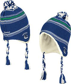 Reebok Vancouver Canucks Faceoff Tassle Knit with Pom  - Shop.Canada.NHL.com