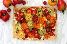 Tarte tomate ricotta feuille de brick