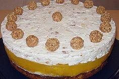 Pfirsich - Mandel - Torte mit Giotto