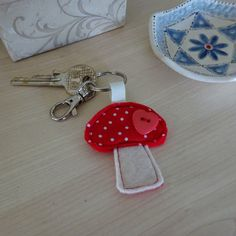 A personal favourite from my Etsy shop https://www.etsy.com/uk/listing/491949404/toadstool-keyring-teacher-gift-toadstool