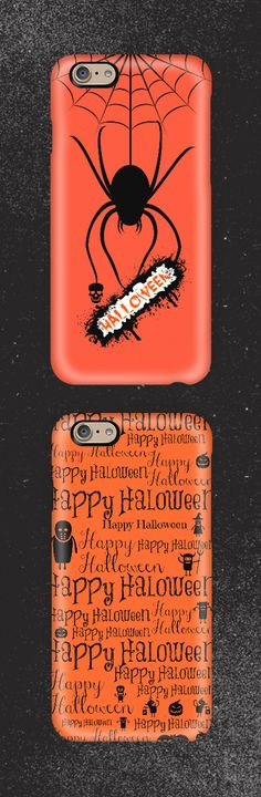 Turn your favorite Instagram and Facebook photos into custom iPhone and Samsung cases at @casetify | Spider | Halloween