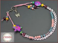 Rechenhilfen - Rechenkette Schmetterling Nr. Dk 68 - ein Designerstück von…