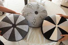 Szycie#5 Poduszka - pufa   Sewing floor pillow