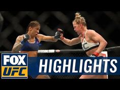 MMA Holly Holm vs. Germaine de Randamie   UFC 208 HIGHLIGHT