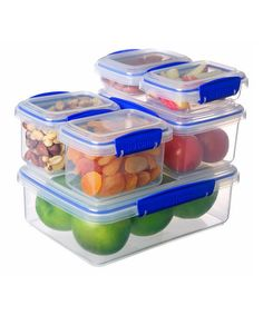 Take a look at this Blue Six-Piece KLIP IT Container Set by Sistema on #zulily today!