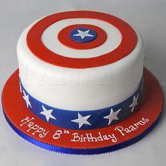 CAPTAIN AMERICA CAKE SP5205 - Panari Cakes