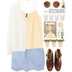 Unusual hemlines can make your outfit stand out! Here's today's #OOTD, by tania-maria: http://polyv.re/1vIkLQE