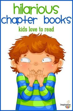 funny chapter books for kids (that will get them reading!)  Your reluctant readers won't be able to stay away from these books! Great list with short synopsis.
