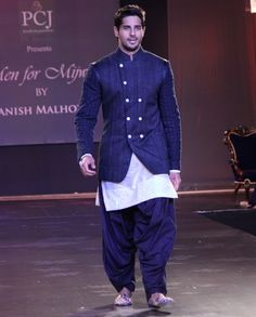 Manish Malhotra. Men for Mijwan. PCJ 14'. Indian Couture.