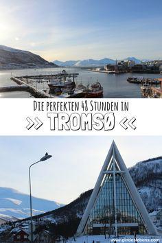 The perfect 48 hours in … – tips for 9 short trips - Travel Destinations Trend Tromso, Lofoten, Reisen In Europa, Europe Destinations, Travel Europe, Short Trip, Helsinki, Norway, Adventure