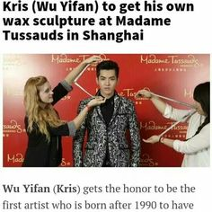 Ohh my god. Why? I love you yi fan, but....ughhhh I can't handle you anymore. Are you still there for exo? Exo's fan still? Or are you forgetting them and loving the glory?
