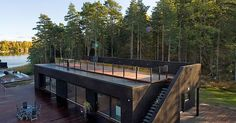 Container homes, Decks and Home on Pinterest