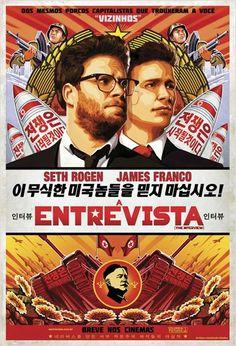 """""""A Entrevista"""" estreia em 29 de janeiro. Trailer: http://youtu.be/0QAgWjBUrmo"""
