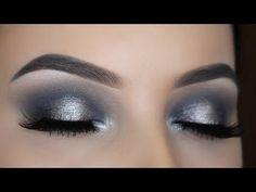 Best Ideas For Makeup Tutorials    Picture    Description  Smokey Silver Halo Eye Makeup Tutorial – YouTube    - #Makeup https://glamfashion.net/beauty/make-up/best-ideas-for-makeup-tutorials-smokey-silver-halo-eye-makeup-tutorial-youtube/