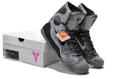 2017 Nike High Quality Kobe 9 Elite Black Mamba Blackout BHM Christmas Men Basketball Shoes KB 9 IX High Sneakers With Box size40-46-028