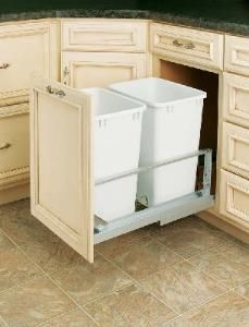 20 best pull out trash cans images waste container closet storage rh pinterest com