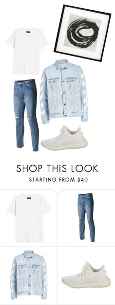 """hombre"" by juliadb on Polyvore featuring AMIRI, Off-White, Yeezy by Kanye West, Eichholtz, men's fashion and menswear"