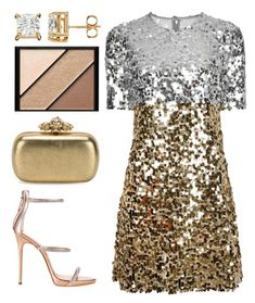 Too Wild by pstm on Polyvore featuring polyvore fashion style Dolce&Gabbana Giuseppe Zanotti Alexander McQueen Elizabeth Arden clothing
