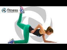 10 Minute Butt and Thigh Workout At Home - No Equipment Butt and Thigh Toning Workout - YouTube