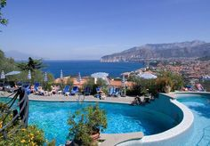 Seven nights at a beautiful hotel overlooking the Bay of Naples, with views of Vesuvius and Pompeii