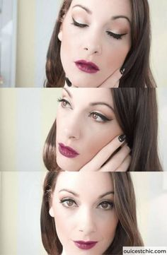 Easy holiday makeup tutorial for beginners. watch this video for a simple christmas holiday makeup look to make you look gorgeous. perfect beauty looks for Hair Colour For Green Eyes, Cool Hair Color, Green Hair, Urban Decay Eyeliner, Makeup Hacks Videos, Makeup Tips, Makeup Ideas, Eyebrows, Blaues Make-up