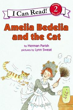 I Can Read Book 2: Amelia Bedelia and the Cat    By Herman Parish / Available at www.BookLodge.com - Lowest Priced English and Chinese Online Bookstore for Children and Parents Worldwide