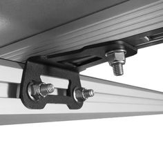 LEITNER ACS Roof Top Tent Bracket - Set of 4 - Rack Outfitters Top Tents, Roof Top Tent, Mini Trucks, New Trucks, Truck Bed Rails, Off Road Parts, Car Roof Racks, Off Road Camping, 4x4 Accessories