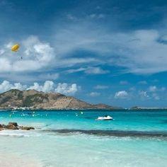 St.  Maarten....50 shades of blue !