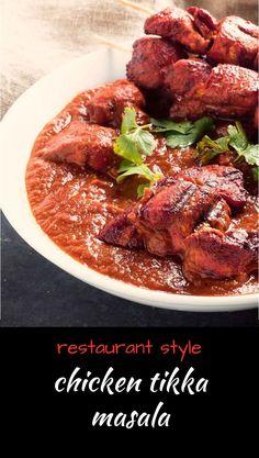restaurant style easy curry recipe technique - nearly restaurant style - glebe kitchen Pollo Tikka Masala, Tandoori Masala, Chicken Tikka Masala, Indian Food Recipes, New Recipes, Dinner Recipes, Cooking Recipes, Healthy Recipes, Spicy Recipes