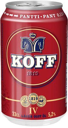 Koff IV beer