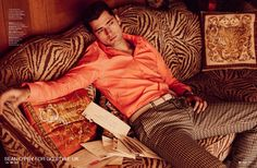 Sean O'Pry Channels Elvis Presley for GQ Style UK Fashion Story