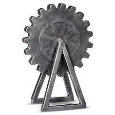 "Gear Metal Hardware - 10"" - The Industrial Shop™"