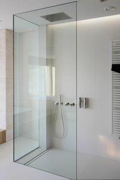Douche rénover minimaliste salle de bains robinet