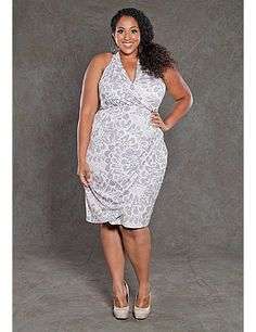 This versatile plus size dress is sure to become your go to for office parties, dressy occasions and a night on the town! A classic plus size cocktail dress in a shape that flatters every body type. sonsi.com